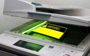 Photocopy threat