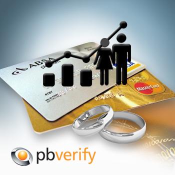 pbVerify Consumer Marriage Status report